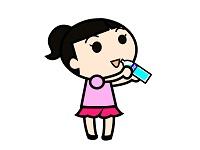 ペットボトル女の子