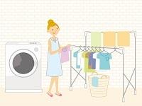 洗濯楽しむ