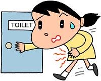 腹痛,トイレ