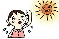熱中症、太陽