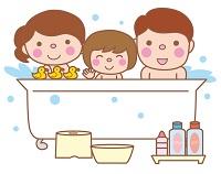 親子お風呂