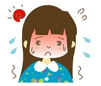 熱中症、女の子