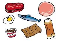 栄養バランスのとれた食品