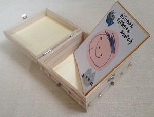 敬老の日の手作りプレゼント,木箱