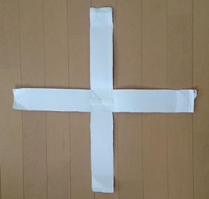折り紙貯金箱1