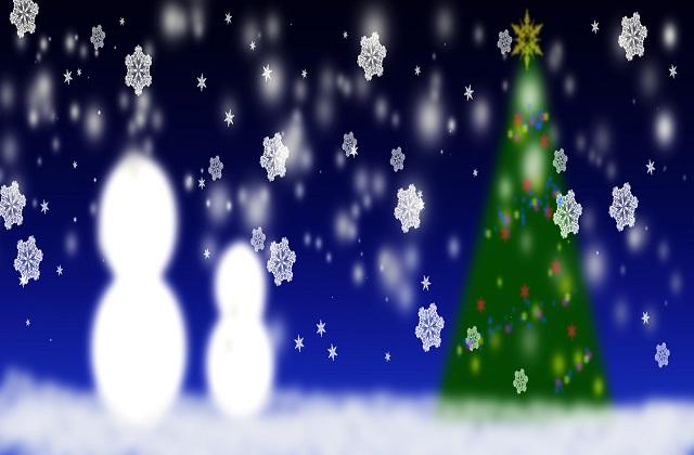 クリスマス,雪だるま