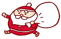 サンタクロースを信じる子供