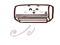 エアコン暖房