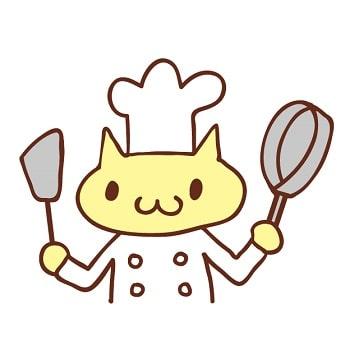 猫,オープンキッチン