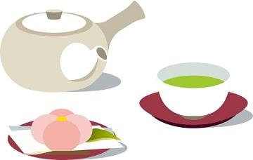 家庭訪問,お茶菓子