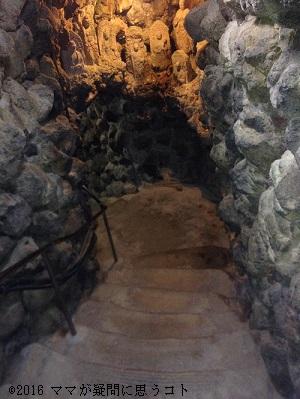 耕三寺,洞窟の中