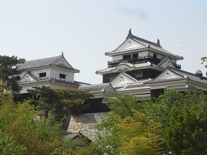 愛媛,観光、松山城