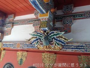 耕三寺の装飾