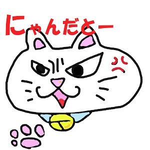 先住猫が怒る
