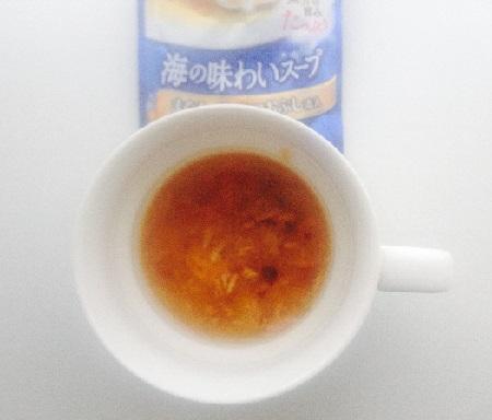 海の味わいスープ