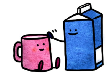 低脂肪牛乳と普通の牛乳の違い