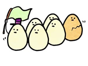 赤い卵と白い卵の違い-min