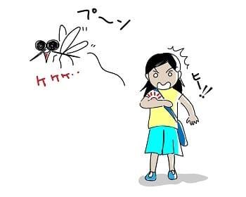 蚊,活動時期