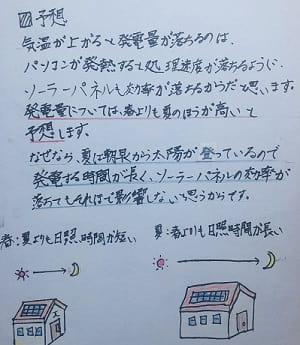 夏休み,自由研究,太陽光発電,予想-min