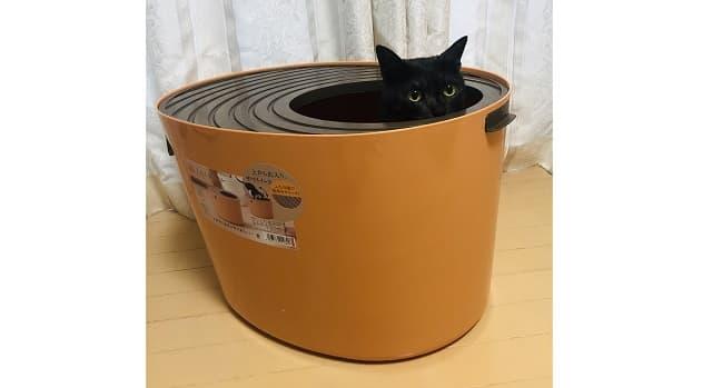 アイリスオーヤマ,上から猫トイレ