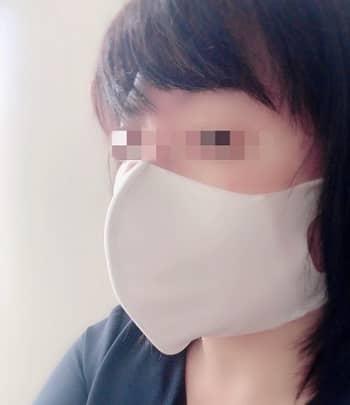 ひんやり素材の冷涼感マスクふつう,横