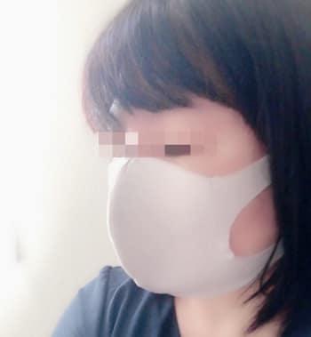 グンゼ,肌にやさしい布製マスク,大人着用,横