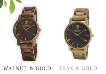 木製腕時計,EINBAND,TEAK