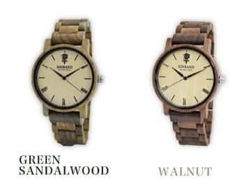 木製腕時計,EINBAND,walnut