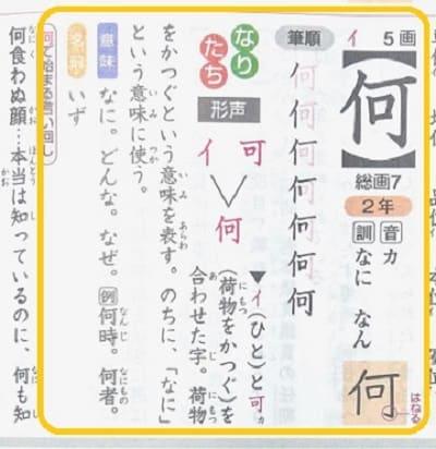 如何ともし難い,何,漢字の意味