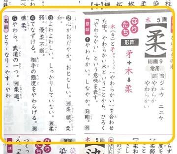 柔らかい,柔,漢字のなりたちと意味